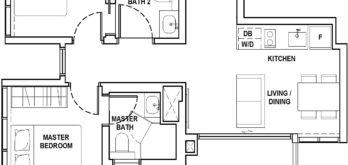 fyve-derbyshire-floor-plan-2-bedroom-a3-singapore