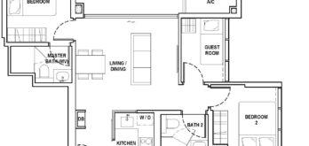 fyve-derbyshire-floor-plan-2-bedroom-+-guest-b-singapore